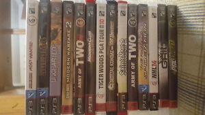 14 PS3 Playstation Games with console