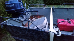18 foot steal boat