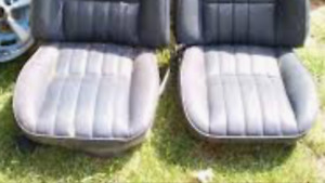 Wanted 70-81 CAmaro front lower vinyl seat no. Rips any colour