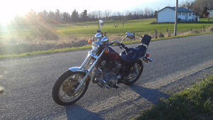 1985 Low Km safetied Yamaha Virago XV700 Excl Cond' asking $2400