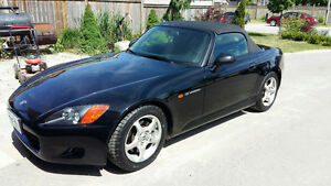 2000 Honda S2000 Base Convertible