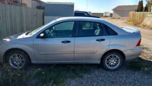 2002 Ford Focus + Winter Tires