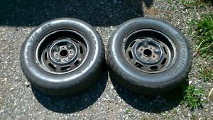 Formula Ford rims and tires 13""