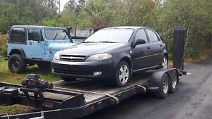 Parting out - 2005 Chevrolet Optra