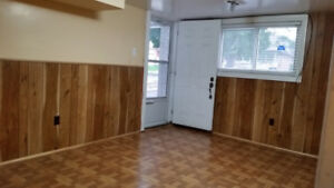 One Bedroom Walk-out Basement for Rent in Malton