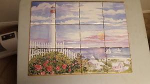 wall tile  murals