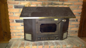 Wood stove for fire place