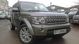 2009 LAND ROVER DISCOVERY 42000 MILE HSE STUNNING STORNAWAY GREY WITH CREA
