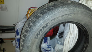 4 old winter tires West Island Greater Montréal image 2
