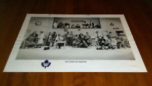 1995 NHL Toronto Maple Leafs Lithograph