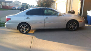 2005 Lexus ES330 with remote starter and winter tires on rims