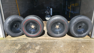 Globeline wheels to suit early Holden - 5 x 108