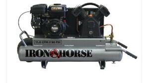 Iron Horse Gas Air Compressor