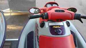 2 x 1998 seadoo gsx limited with double trailer