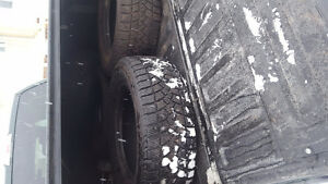 "18"" Goodyear winter tires"