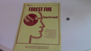 Ranger Brewing Company Limited, Kitchener, Forest Fire Ad