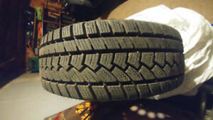 CHACHLAND ALL WEATHER 195/65R15 TIRES ON RIMS
