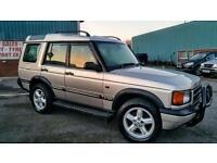 LAND ROVER DISCOVERY TD5 DIESEL 7 SEATER 4X4 GREAT SPEC WITH LEATHER AND TOW BAR