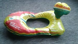 Scott Atwater Outboard Motors Inflatable Racer