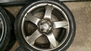 "OEM 17"" Alloy Wheels (17x6.5 5x105 +41.5mm)"