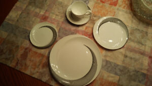 Wedgwood Bone China Apollo pattern.