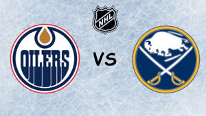 Used, OILERS vs SABRES - January 14th - Lower Bowl Seats! for sale  Edmonton