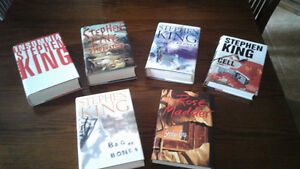 Stephen King Books - Livres Stephen King - First edition