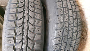 Used winter tires and rims