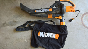 Worx Leaf Blower and Vacuum for sale!  Get ready for fall!