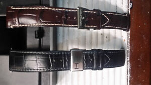 Hamilton 22mm leather bands for sale