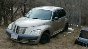 Selling (sort of) working 2002 PT Cruiser