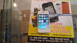 iPhone 5S White Unlocked