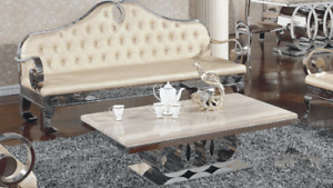 TABLES EN GRANITE QUARTZ MARBRE - QUARTZ GRANIT DINING TABLES