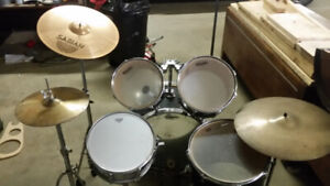 Aria 5 Piece Drum Set