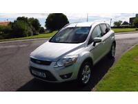 FORD KUGA 2.0 ZETEC TDCI(60PLATE)ALLOYS,AIR CON,TOWBAR,FULL HISTORY,VERY CLEAN
