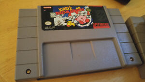 Kirby dream course SNES