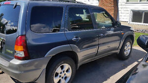 2001 Mazda Tribute Lx v6 SUV, Crossover West Island Greater Montréal image 4