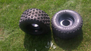 Tires and rims for predator