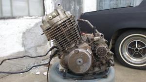 Xr 350 running engine honda