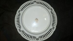 "ANTIQUE BEAUTIFUL ""SCHWARZENHAMMER"" PORCELAIN LATTICE PLATE Kitchener / Waterloo Kitchener Area image 8"