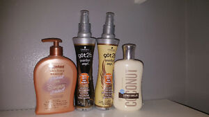 Hair and body products 4$/all