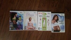 Workout WII Games