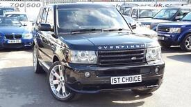 2007 LAND ROVER RANGE ROVER SPORT V8 SPORT HSE OVERFINCH LOW MILEAGE A RE