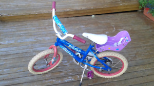 Girl's Bike and Doll Carrier