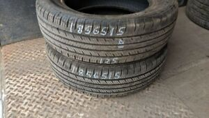 Pair of 2 Westlake Radial RP18 185/65R15 tires (70% tread life)
