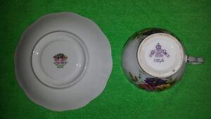 "Delphine Cup & Royal Albert Random Harvest Series ""Devon"" Saucer Cambridge Kitchener Area image 4"