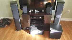 Yamaha Amp 5.1 and Mission surround sound speakers