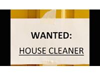 Part time Domestic Cleaner required - Crawley