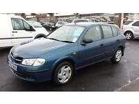 2002 NISSAN ALMERA 1.8 E Automatic 5 Door From GBP1,595 + Retail Package