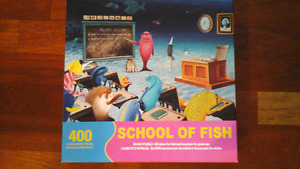 School Of Fish - 400pc Jigsaw Puzzle by Springbok